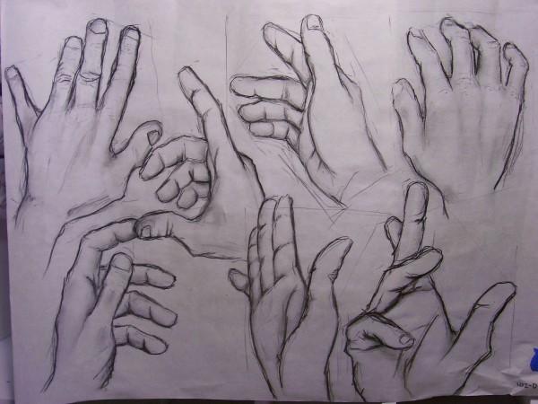 7 hands