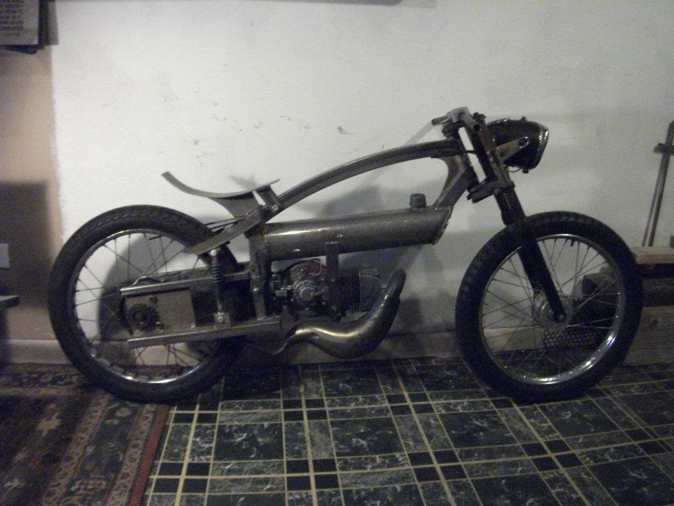 moped build | derussy designs