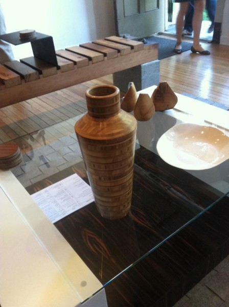 tall bamboo vase